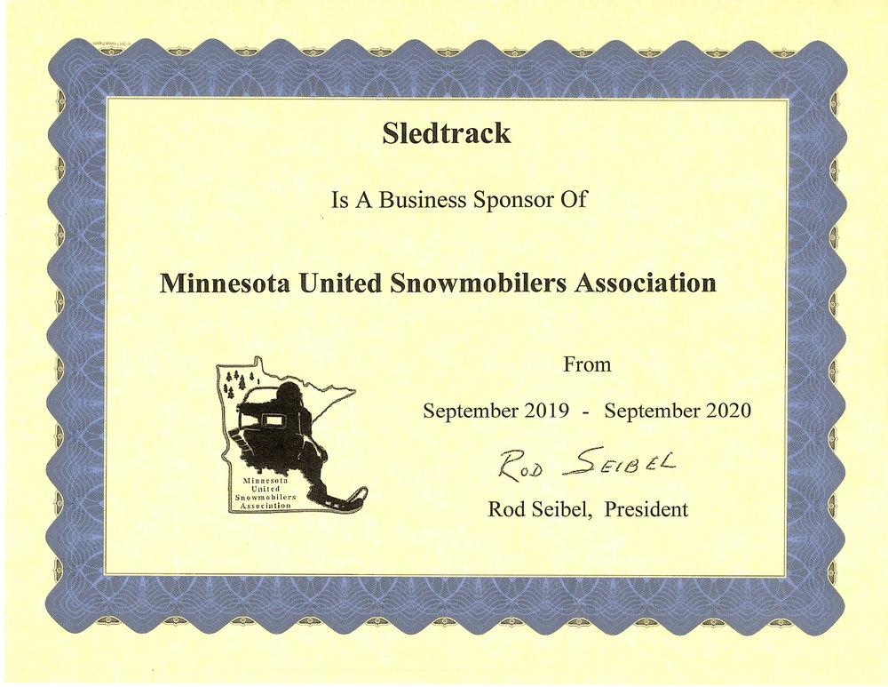 Minnesota United Snowmobiliers Association