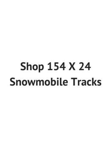154 X 24 Snowmobile Tracks