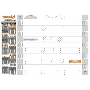 Woodys T252 Studding Template